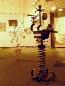 Sculpture : Bon Rebond