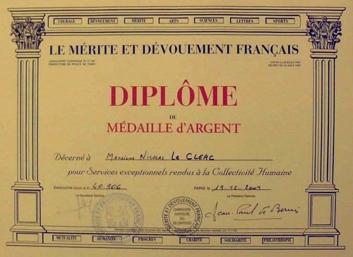 Mérite Dévouement Français (MDF)