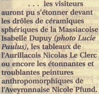 marché d'art Aurillac