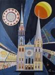 Cathédrale de Chartres / acrylique