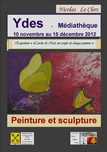 Affiche Ydes, Cantal
