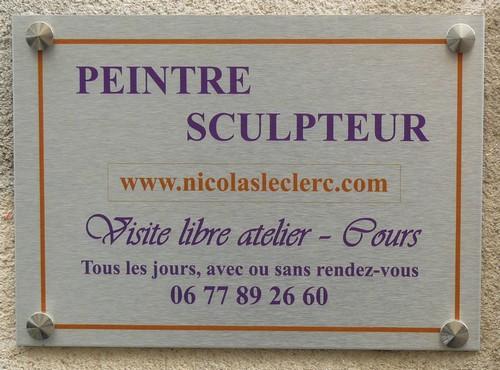 Porte Nicolas Leclerc à Aurillac