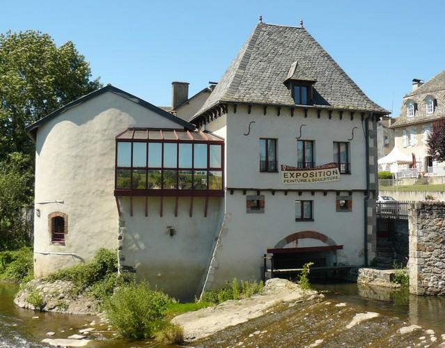 Le moulin d'Arpajon-s-Cère