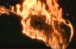 violon en feu
