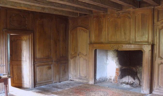Secteur non habité de cette vieille maison