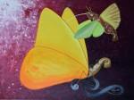 Papillons 1 peinture