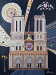 Peinture : Notre-Dame, cathédrale Paris