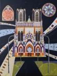 Peinture : Cathédrale de Reims