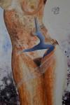 les femmes : peinture huile