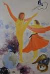 peinture : 2 danseuses
