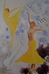 peinture : danseuses légères