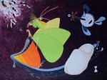 Papillons 5 peinture