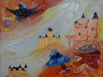 Peinture : Château magique