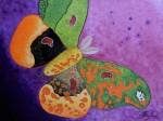 Papillons 4 peinture